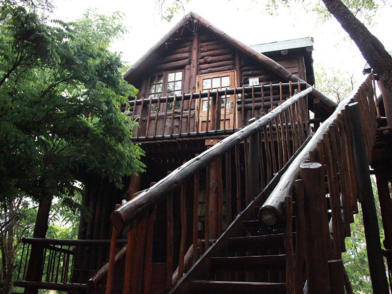 Double Storey Cabin Exterior
