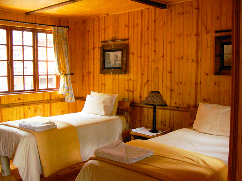 Double Storey Cabin Interior