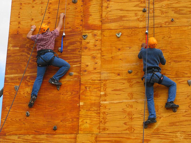 Wall Climbing Activities