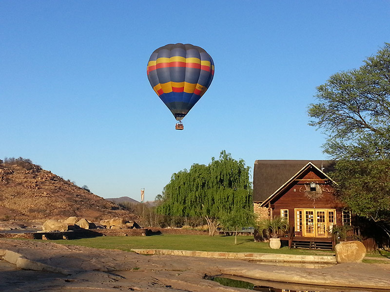 Hot Air Balloon Rides at SunWa